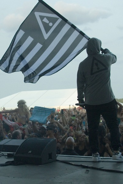 Dillon Francis, Diplo, Dirty South Joe, DJ Snake, Flosstradamus, Gent & Jawns, Mike Taylor, Swizzymack and Vic Mensa - 2014 Mad Decent Block Party - Festival Pier at Penn�s Landing - Philadelphia, PA - August 8, 2014 - Photo by Vin Manta � 2014
