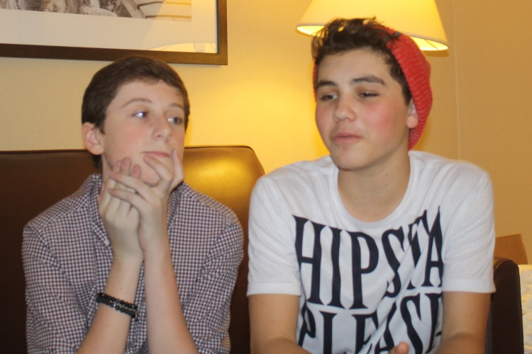 Trevor Moran and Sam Pottorff at Reality Dance Fall Fan Fest 2013 at Sheraton, Philadelphia PA