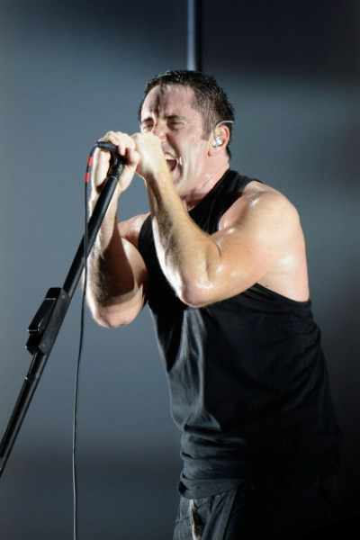 Nine Inch Nails - Budweiser Made In America Fest (Day Two) - Benjamin Franklin Parkway - Philadelphia, PA - September 1, 2013 - photos by Getty Images � 2013. Courtesy of MSO.