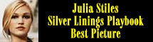 2013 Oscar Nominee - Julia Stiles - Best Picture - Silver Linings Playbook