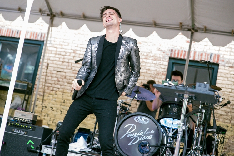 Panic! At the Disco - Piazza at Schmidt's - Philadelphia, PA - August 3, 2013 - photo by Serge Levin Photography/RockintheBurbs � 2013