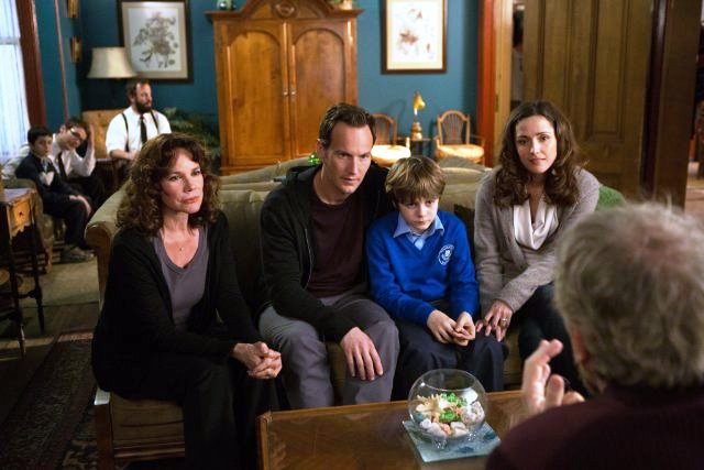 "Barbara Hershey, Patrick Wilson, Ty Simpkins and Rose Byrne star in ""Insidious: Chapter 2"""