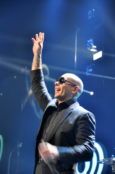 Pitbull - Q102 Jingle Ball 2013   The Wells Fargo Center - Philadelphia, PA - December 4, 2013 - photo by Jackie Speiss � 2013