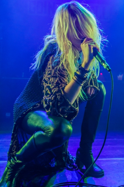 The Pretty Reckless featuring Taylor Momsen - Irving Plaza - New York, NY - November 9, 2013 - photo by Mark Doyle � 2013
