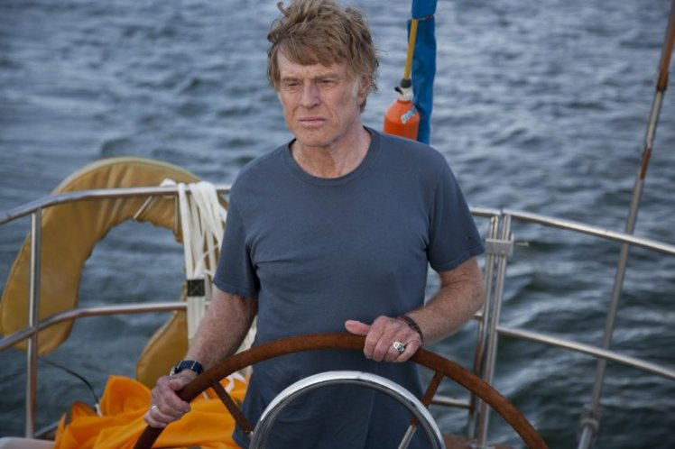 Robert Redford stars in 'All is Lost.'