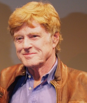 Robert Redford at the NYFF screening of 'All is Lost.'