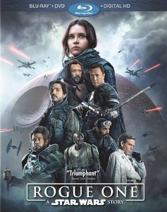 Rogue One - A Star Wars Story on Blu Ray Combo Pack
