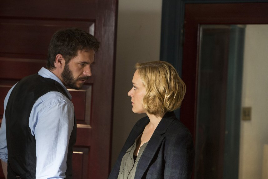 "James D'Arcy and Chloe Sevigny star in ""Those Who Kill."""