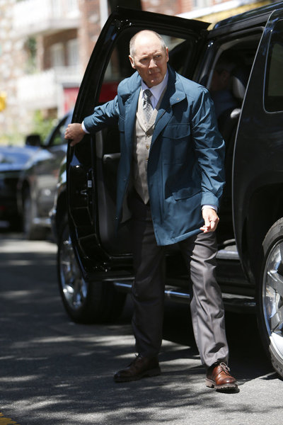 "THE BLACKLIST -- ""Wujing"" Episode 102 -- Pictured: James Spader as Raymond ""Red"" Reddington -- (Photo by: Will Hart/NBC)"
