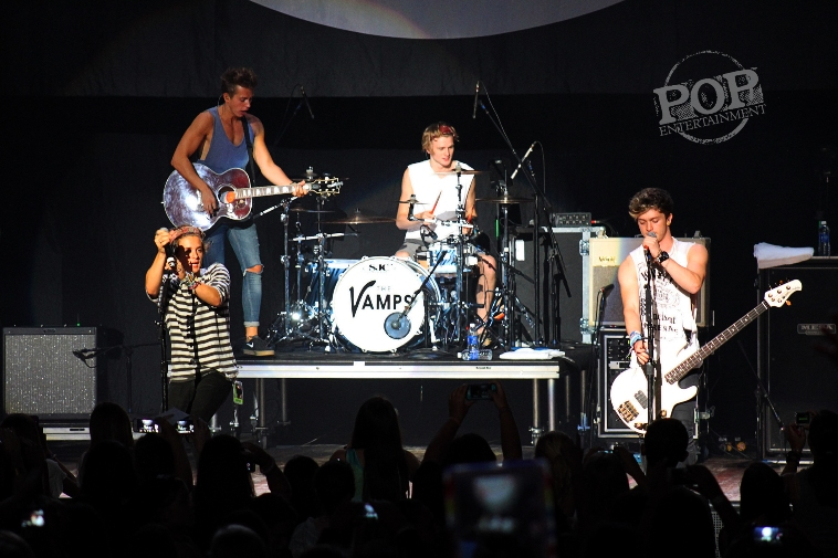 The Vamps - The Mann Center for Performing Arts - Philadelphia, PA - August 21, 2014 - photo by Maggie Mitchell � 2014
