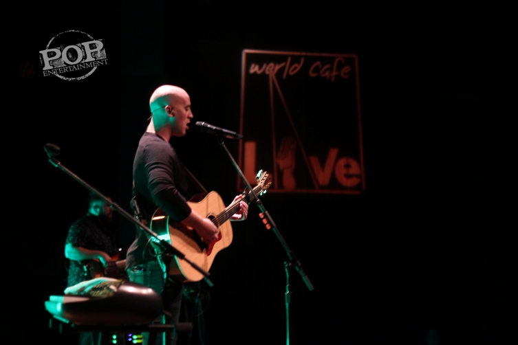 Tyrone Wells plays at World Cafe Live, Philadelphia, on 5/2/15. Photo � 2015 Adam MacDonald. All rights reserved.