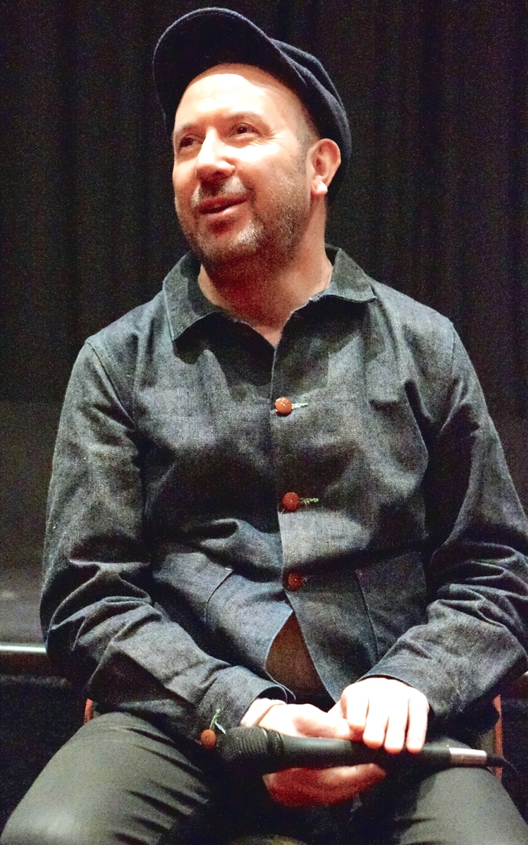 Paul McGuigan at the NY press day for VICTOR FRANKENSTEIN. Photo copyright 2015 Brad Balfour.