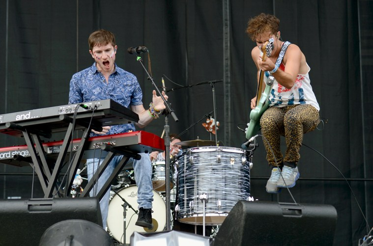 Walk the Moon - Budweiser Made In America Fest (Day One) - Benjamin Franklin Parkway - Philadelphia, PA - August 31, 2013 - photo by Getty Images � 2013. Courtesy of MSO.