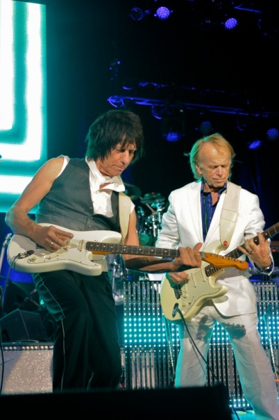 Jeff Beck and Al Jardine - Tower Theater - Philadelphia, PA - October 13, 2013 - photo by Jim Rinaldi � 2013