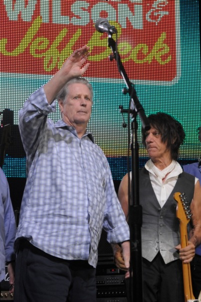 Brian Wilson and Jeff Beck - Tower Theater - Philadelphia, PA - October 13, 2013 - photo by Jim Rinaldi � 2013