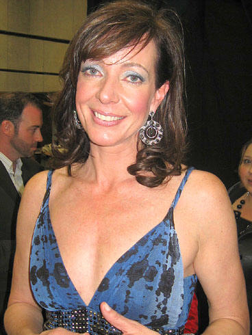 Allison Janney at the 2009 Drama Desk Awards.