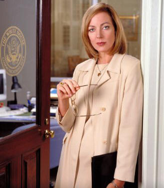 Allison Janney in 'The West Wing.'