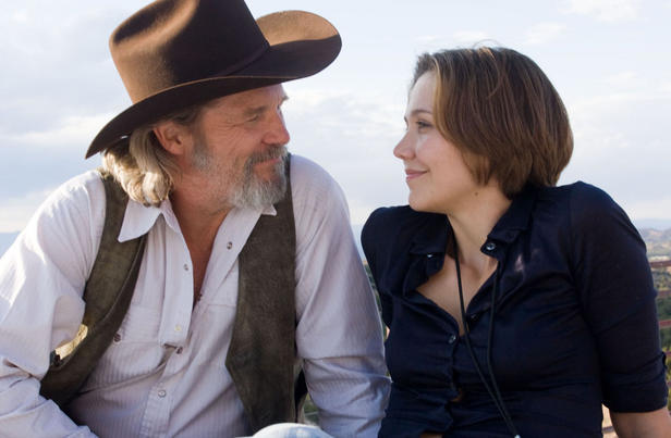 Jeff Bridges stars as country singer Bad Blake and Maggie Gyllenhaal as Jean in 'Crazy Heart.'