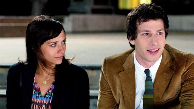 Rashida Jones and Andy Samberg star in CELESTE AND JESSE FOREVER.