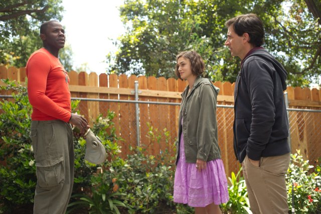 Derek Luke, Keira Knightley and Steve Carell star in SEEKING A FRIEND FOR THE END OF THE WORLD.