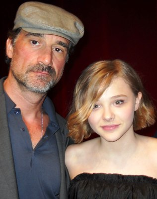 Elias Koteas and Chloe Moretz at the New York Press Day for LET ME IN.