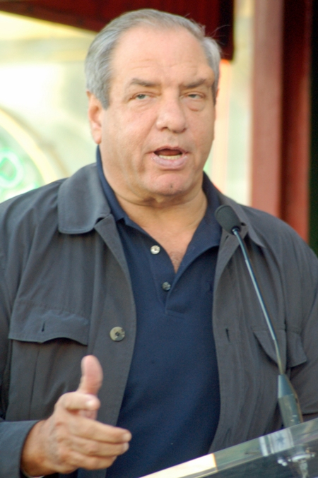 Law & Order: Criminal Intent creator Dick Wolf.