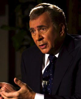 Frank Langella as Richard Nixon in 'Frost/Nixon.'