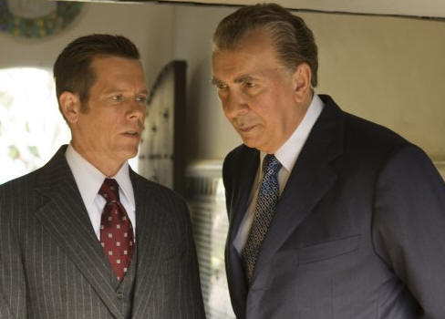 Kevin Bacon as Jack Brennan and Frank Langella as Richard Nixon in 'Frost/Nixon.'