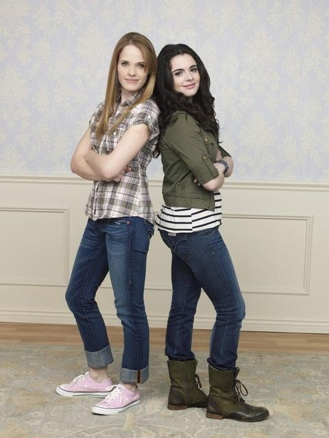 Katie Leclerc and Vanessa Marano star in the ABC Family Channel series SWITCHED AT BIRTH.