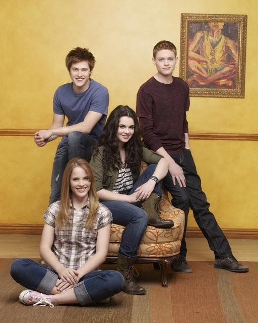 Lucas Gabreel, Katie Leclerc, Vanessa Marano and Sean Berdy star in the ABC Family Channel series SWITCHED AT BIRTH.