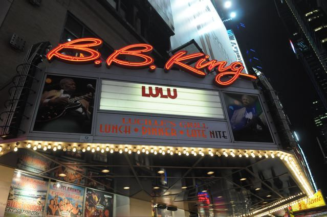 Lulu - B.B. King's Blues Club and Grill - New York, NY - February 16, 2013 - photo by Jim Rinaldi � 2013