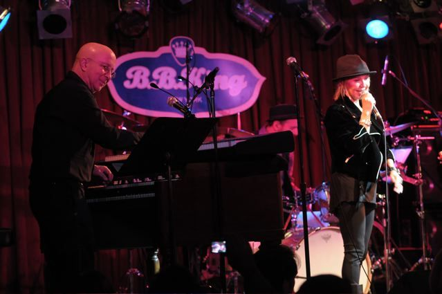 Paul Shaffer with Lulu - B.B. King's Blues Club and Grill - New York, NY - February 16, 2013 - photo by Jim Rinaldi � 2013