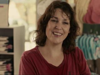 "Melanie Lynskey stars in the movie ""Hello, I Must Be Going."""