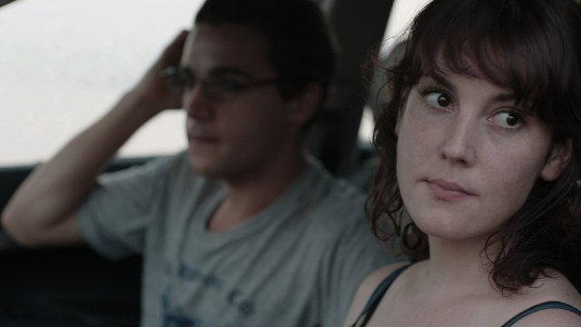 "Christopher Abbott and Melanie Lynskey star in the movie ""Hello, I Must Be Going."""