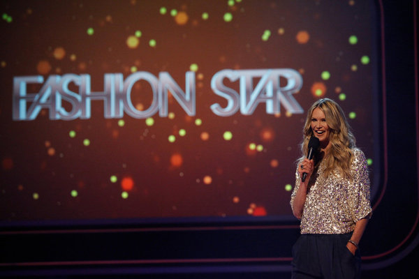 FASHION STAR -- Episode 102 -- Pictured: Elle Macpherson -- (Photo by: Tyler Golden/NBC)