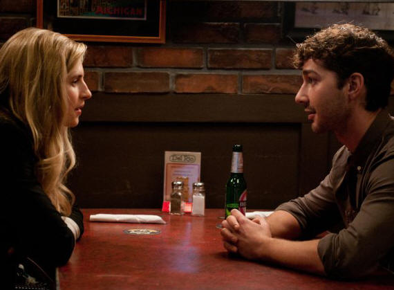 "Brit Marling and Shia LaBeouf star in ""The Company You Keep"""