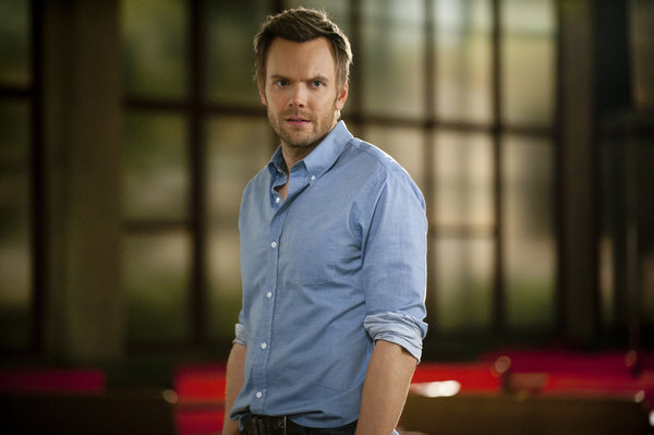 "COMMUNITY -- ""Football and Nocturnal Vigilantism"" Episode 309 -- Pictured: Joel McHale as Jeff -- Photo by: Lewis Jacobs/NBC"
