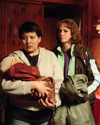 Misty Upham and Melissa Leo in 'Frozen River.'