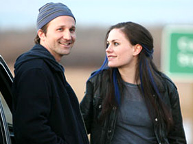 Breckin Meyer and Anna Paquin in 'Blue State.'