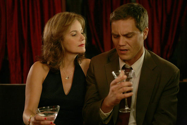 Margaret Colin and Michael Shannon in 'The Missing Person.'