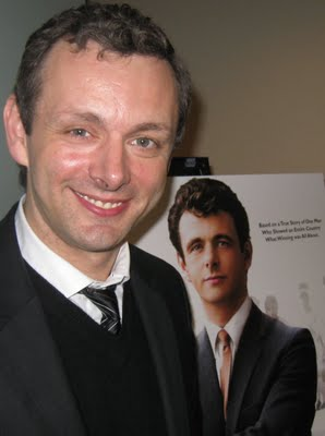 Michael Sheen promoting 'The Damned United.'