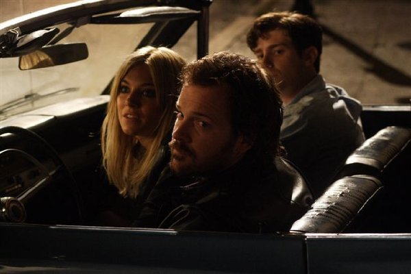 Sienna Miller, Peter Sarsgaard and Jon Foster in 'The Mysteries of Pittsburgh.'