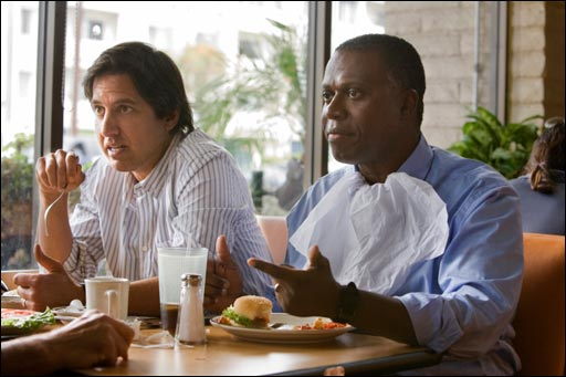 Ray Romano and Andre Braugher in MEN OF A CERTAIN AGE.