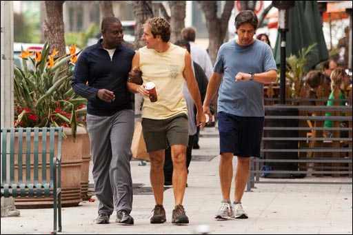 Andre Braugher, Scott Bakula and Ray Romano in MEN OF A CERTAIN AGE.