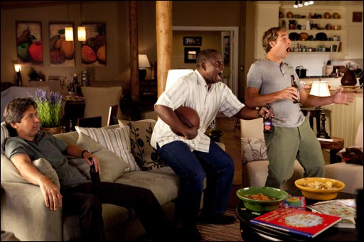 Ray Romano, Andre Braugher and Scott Bakula in MEN OF A CERTAIN AGE.
