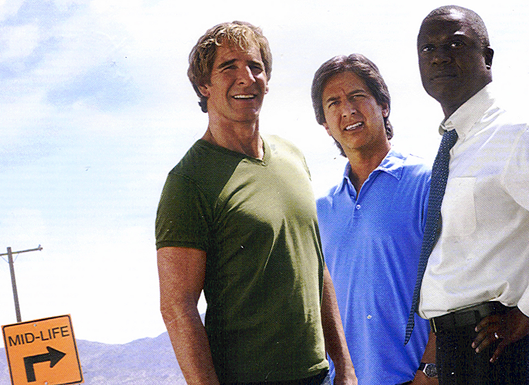 Scott Bakula, Ray Romano and Andre Braugher in MEN OF A CERTAIN AGE.