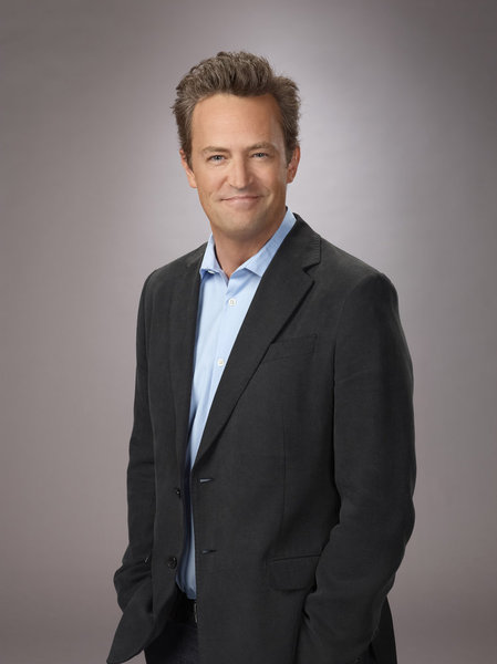GO ON -- Season: Pilot -- Pictured: Matthew Perry as Ryan -- (Photo by: Paul Drinkwater/NBC)