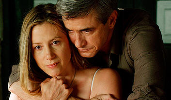 Mira Sorvino and Dermot Mulroney star in TRADE OF INNOCENTS.