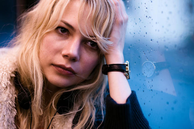 Michelle Williams stars in BLUE VALENTINE.