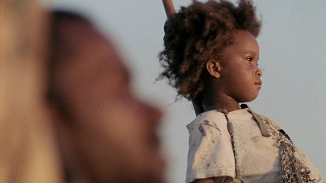 "Dwight Henry and Quvenzhané Wallis star in ""Beasts of the Southern Wild."""